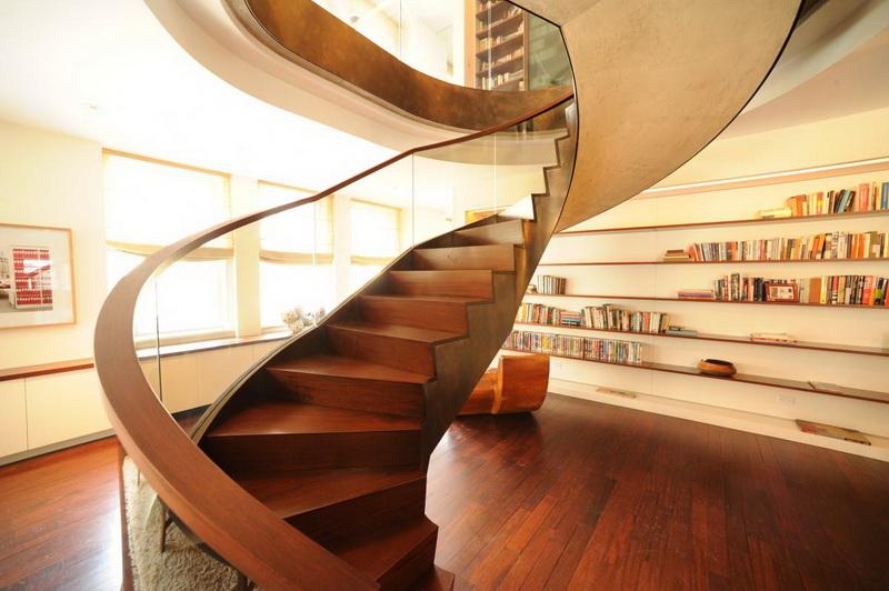 Как красиво сделать на лестнице