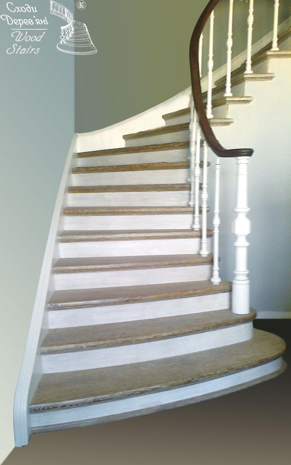 Лестницы из искусственного камня 80